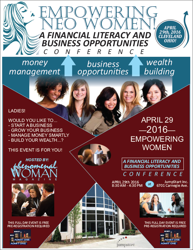 Empowering Women: A Financial Literacy and Business Opportunities Conference @ JumpStart Inc. | Cleveland | Ohio | United States