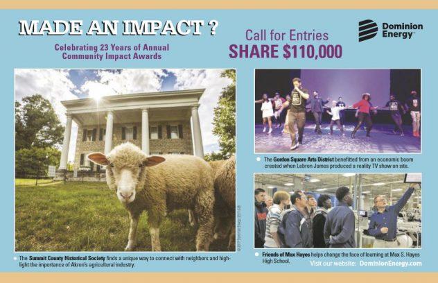 Dominion Energy Community Impact Awards Application Deadline @ N/A